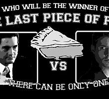 Agent Dale Cooper VS Dean Winchester by VeeGiggity