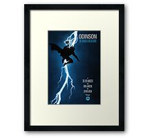 The Thunder God Returns Framed Print