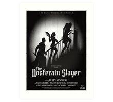 The Nosferatu Slayer Art Print