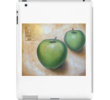 Green apples updated iPad Case/Skin