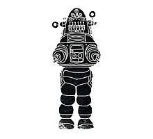 Robby the Robot Photographic Print
