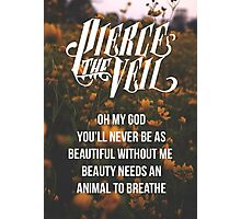 Pierce the Veil Poster Photographic Print