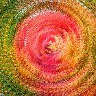 Abstract Autumn Leaf Swirl by KellyHeaton