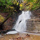 Buttermilk Falls Cascade by Kenneth Keifer