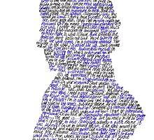Sherlock in his own words by JotunLokiLady