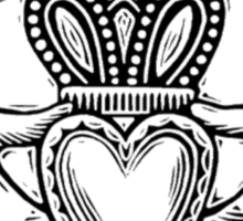 Claddagh Ring Sticker