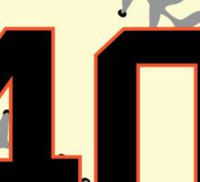 Madison Bumgarner Baseball Design Sticker