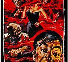 The Blob - Italian 1958 Poster by Trevor McCabe