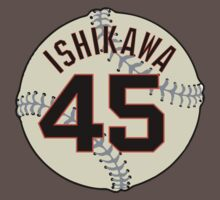 Travis Ishikawa Baseball Design by canossagraphics