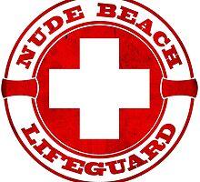 Nude Beach Lifeguard by papabuju