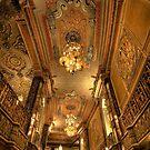 Oriental Theatre Hallway by Adam Bykowski