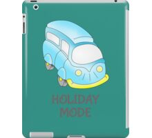 Camper Van \ Holiday Mode iPad Case/Skin