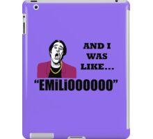 EMILIOOOOoooo iPad Case/Skin