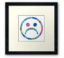 sad boy Framed Print