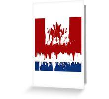 canadian/dutch Greeting Card