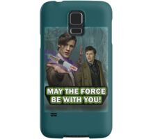 Use the Force, Doctor Jedi (Realistic) Samsung Galaxy Case/Skin