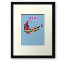 Bravest Warriors ~ Catbug Guitar Framed Print