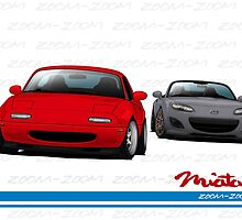 Mazda MX-5 Miata NA and NC by m-arts