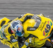 Maverick Vinales Champion Moto2 Racer Sticker