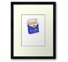 Winnie Blues Mate Framed Print