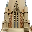 Wesley Church Perth City Western Australia. by Sandra  Sengstock-Miller