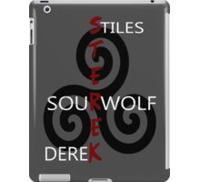 Sterek-Black iPad Case/Skin