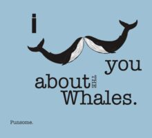 Whale moustache by Punsome