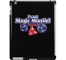I Cast Magic Missile II iPad Case/Skin