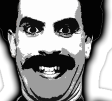Borat - Great Success Sticker