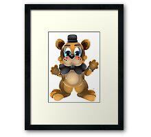 Chibi Freddy Bear Framed Print