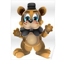 Chibi Freddy Bear Poster