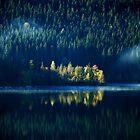 The blue Hour........... by Imi Koetz