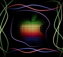 Apple Neon GFX by Febreezy