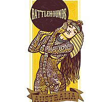 Battlehounds Official Apparel Goddess  by battlehounds