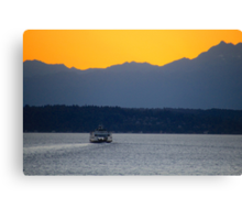8:00 PM Sailing Canvas Print