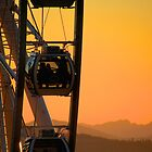 Great Wheel Sunset by Sue Morgan