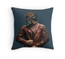 Starlord from Guardians of the Galaxy Throw Pillow