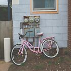 Rusty Pink Bicycle by Bethany Helzer