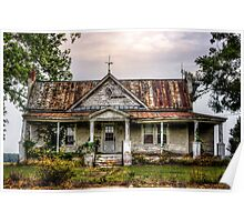 Tin Roof......RUSTED!  Poster