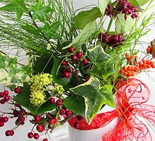 Winter Flowers by sammiejayjay