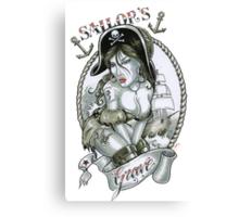 Sailors Grave *Pirate Theme* Canvas Print