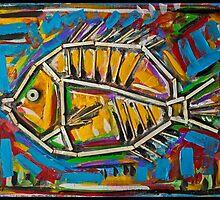 Golden Fish  by mrlebob
