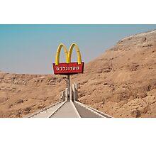 McDonalds-On-Sea Photographic Print