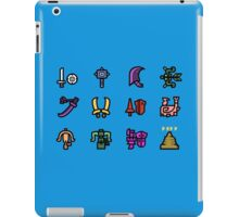 Monster Hunter Weapon Icons iPad Case/Skin