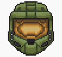 Master Chief Pixel by bowksmon