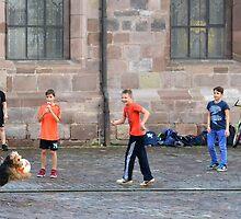 The goalkeeper by Arie Koene