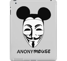 anonymouse iPad Case/Skin