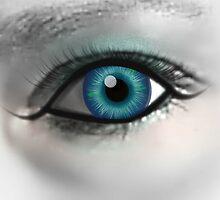 Beautiful Blue Eye by Princess1222