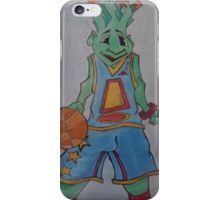 Squirt with basketball iPhone Case/Skin