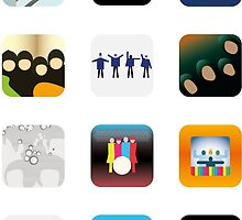 There's an app for that Beatles by Christophe Gowans